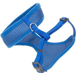 Coastal Pet -Comfort Soft Adjustable Mesh Cat Harness - Blue