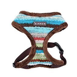 Puppia Crayon Harness A, Small, Brown