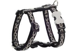 Red Dingo Designer Dog Harness, Large, Chain