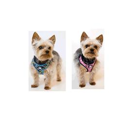 Designer Soft Harness for Dog 2 colors xxs to s breathable m