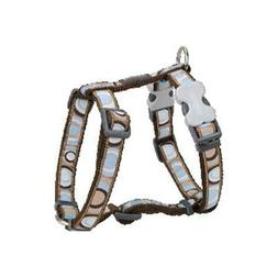 Red Dingo DH-CI-BR-SM Dog Harness Design Circadelic Brown Sm