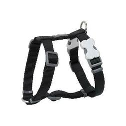 Red Dingo DH-ZZ-BB-ME Dog Harness Classic Black Medium