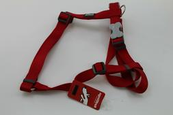 Dingo Basic Halter Harnesses Classic Dog Harness XL Red