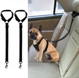 Dog Car Seatbelt Harness Adjustable Safe Restraint Security