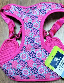 TOP PAW, Dog Comfort Harness NEW! Size LARGE ,Hot Pink, Purp