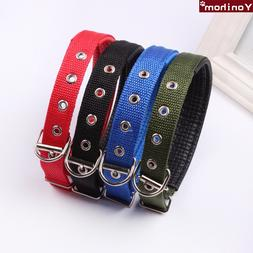Dog <font><b>Collar</b></font> Nylon Comfortable Adjustable