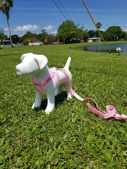 DOG HARNESS ADJUSTABLE NYLON HARNESSES COLLAR EASY TO USE WA