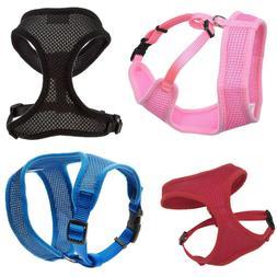 Dog Harness Adjustable Soft Comfortable Fabric Breathable XX