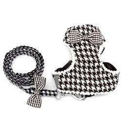 SMALLLEE_LUCKY_STORE Small Dog Harness for Girls Boys Cat Do