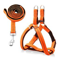 URPOWER Dog Harness Durable Dog Leash Heavy Duty & Adjustabl
