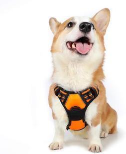 Dog Harness No Pull Pet Harness Adjustable Outdoor Pet Vest