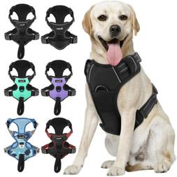 Pawaboo Dog Harness No Pull Pet Vest Adjustable Reflective E