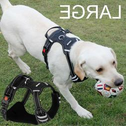 Dog Harness No Pull Vest Adjustable LARGE Dogs Easy Control