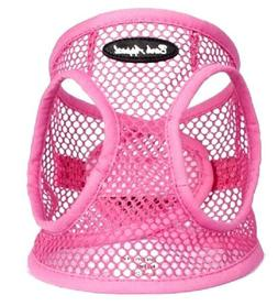 Dog Harness PINK STEP IN Netted EZ Wrap Choke Free Sizes to