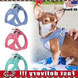 Dog Harness Reflective Padded Small Pet Cat Puppy Soft Vest
