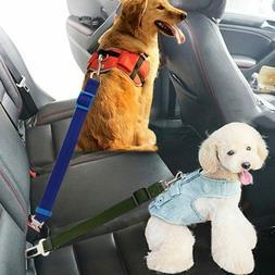 Dog Harness Seatbelt Pet Supplies Travel 1pc Nylon Pets Pupp