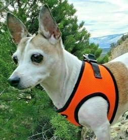 Bark Appeal Dog Harness Step In Mesh EZ Wrap No Choke Sizes