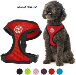 dog padded harness soft mesh head in