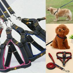 Dog Pet Harness Leash Set Traction Rope Leash Dog Pet Small