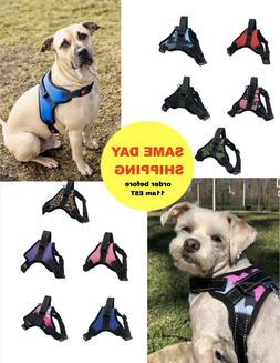 Dog Pet Harness Vest w Handle, No Pull, High Quality & Refle