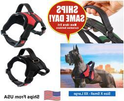 Dog Pet No-Pull Adjustable Harness Vest Control Reflective X