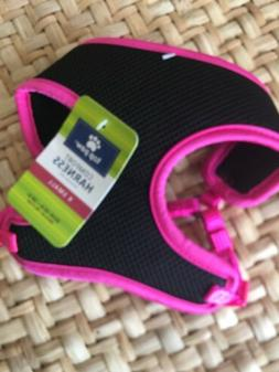 Top Paw Dog Puppy Harness Pink Black XS New