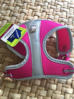 Top Paw Dog Puppy Harness Pink REFLECTIVE  XS New