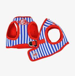 Puppia - Dog Puppy Harness Soft Vest - Sport - Royal Blue Re