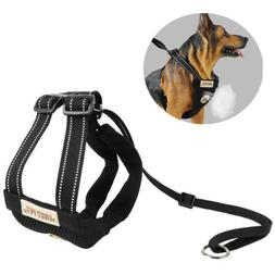 Dog Soft Lead Leash+Harness Girth Vest Strap For Pets Dogs C