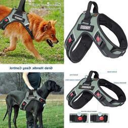 Dog Vest Halter Harness Adjustable Durable Heavy Duty Soft P