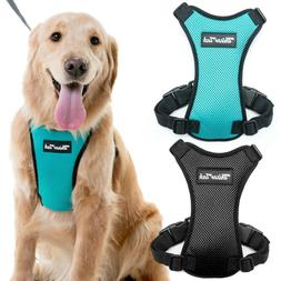 Dog Vest Harness Adjustable Car Safety Mesh Harness Travel S