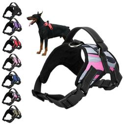Dog Vest Harness Adjustable No Pull Leash Collar Set Handle