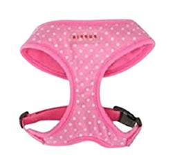 Puppia Dotty Dog Harness Medium Pink