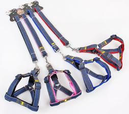 Easy Step In Adjustable Strap Harness & Leash Set for Dogs N