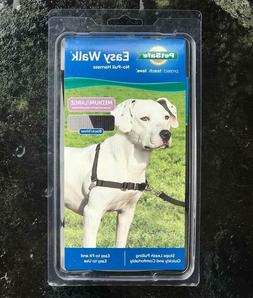 PETSAFE EASY WALK NO-PULL DOG HARNESS, MEDIUM/LARGE, BLACK/S