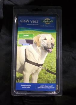 PetSafe EASY WALK NO PULL HARNESS for Dogs Black Silver Size