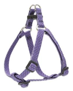 "LupinePet Eco 1/2"" Lilac 12-18"" Step In Harness for Small Do"