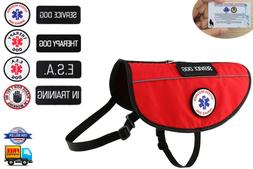 Service Dog - ESA Support Animal - Therapy Dog Harness K9 Ve
