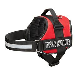 Industrial Puppy Emotional Support Dog Harness With Reflecti