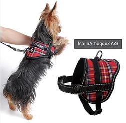 Emotional Support Animal Harness & Matching Leash Set for Sm
