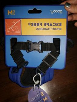 Gooby - Escape Free Sport Harness, Small Dog Step-In Neopren