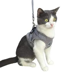 Kamots Beauty Escape Proof Cat Harness and Leash for Walking
