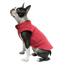 Gooby - Fleece Vest, Small Dog Pullover Fleece Jacket with L