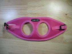 Bark Appeal EZ Wrap Mesh Dog Step In Harness Size XS - Pink