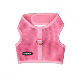 Bark Appeal EZ Wrap n Go Mesh Dog Step In Harness Pink Sizes