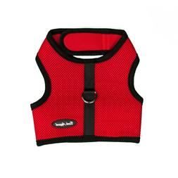 Bark Appeal EZ Wrap n Go Mesh Dog Step In Harness Red Sizes