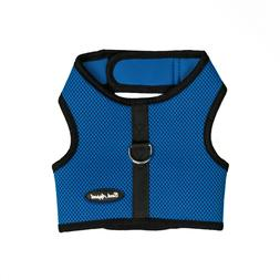 Bark Appeal EZ Wrap n Go Mesh Dog Step In Harness Blue Sizes