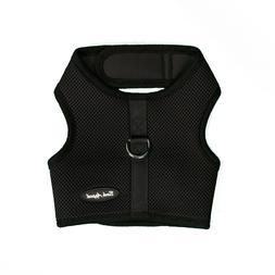 Bark Appeal EZ Wrap n Go Mesh Dog Step In Harness Black Size