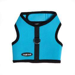 Bark Appeal EZ Wrap n Go Mesh Dog Step In Harness Aqua Sizes