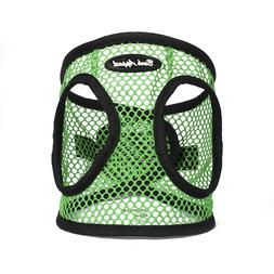 Bark Appeal EZ Wrap Netted Dog Step In Harness Green Sizes X